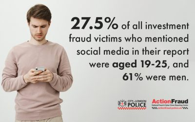 New figures reveal victims lost over £63m to investment fraud scams on social media