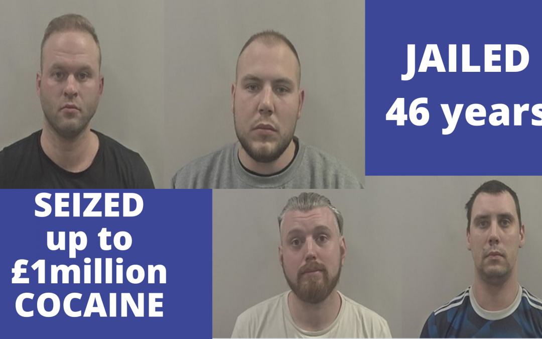 Drugs ring jailed for almost 50 years following sting
