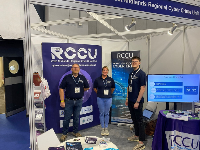RCCU AT THE NATIONAL CYBER SECURITY SHOW